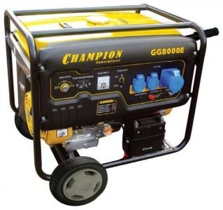 Генератор Champion GG8000E