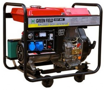 Генератор GreenField 5 GF-ME
