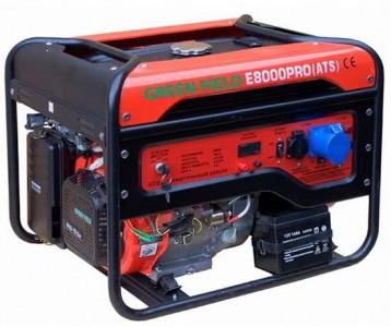 Генератор GreenField E8000 PRO (ATS)