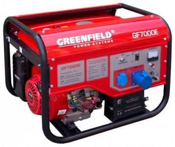 Генератор GreenField LT 7000E