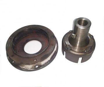 Переходной комплект МТЗ с 8-15 л.с. вместо (плита+барабан сцепления 08Н-1601015)