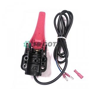 Ручка выключения двигателя для мотоблока Угра (с проводом)