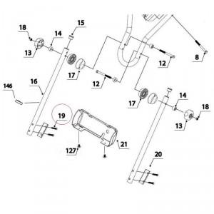 Болт M8X40 для мотокультиватора Texas LX