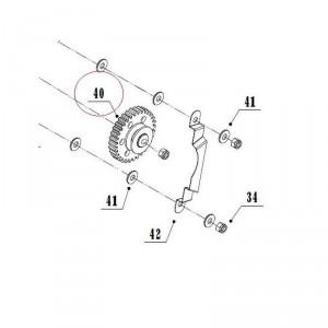 Шестерня 602TG для мотокультиватора Texas TX