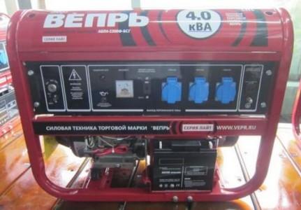 Генератор Вепрь АБП 4,2-230 ВФ-БСГ
