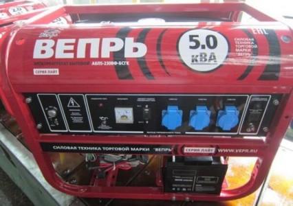 Генератор Вепрь АБП 5-230 ВФ-БСГК