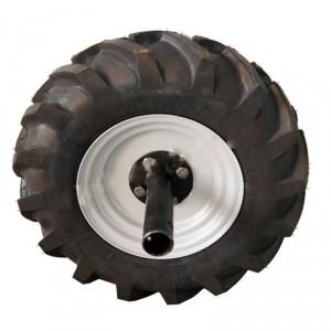 Колесо левое со ступицей 4,5×10 для МБ Нева