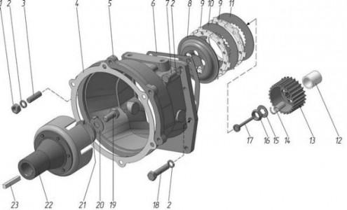 Барабан 09Н-1601015 МТЗ диаметр 25,4мм