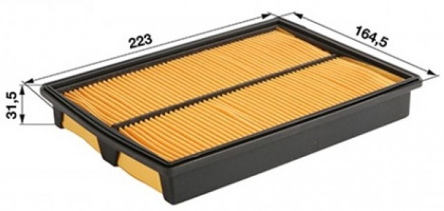 Фильтр воздушный GX610-620 146095