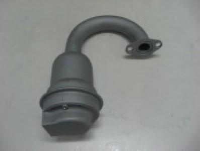 Глушитель для мотоблока Нева (глушитель двигателя)
