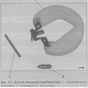 Клапан топливный (игла) КД.08.1107190 К-496