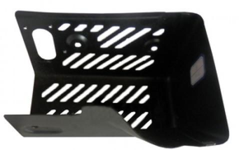 Экран (корпус) защиты глушителя на двигатель 281-34201-J1