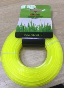 Леска Brait D-3.0 mm  L-15mm квадрат