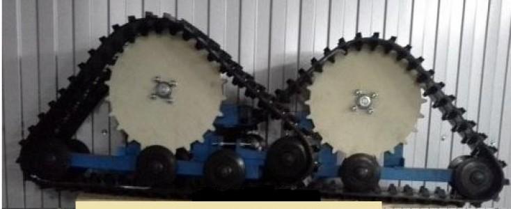 Привод гусеничный к Мотоблоку Нева ГП-Р1 вал 30мм (треугольная)